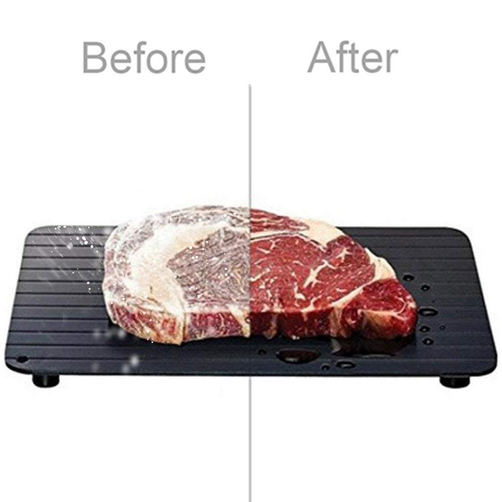 2-in-1 Rapid Defroster - Fast Meat Defrosting Tray and Chopping Board