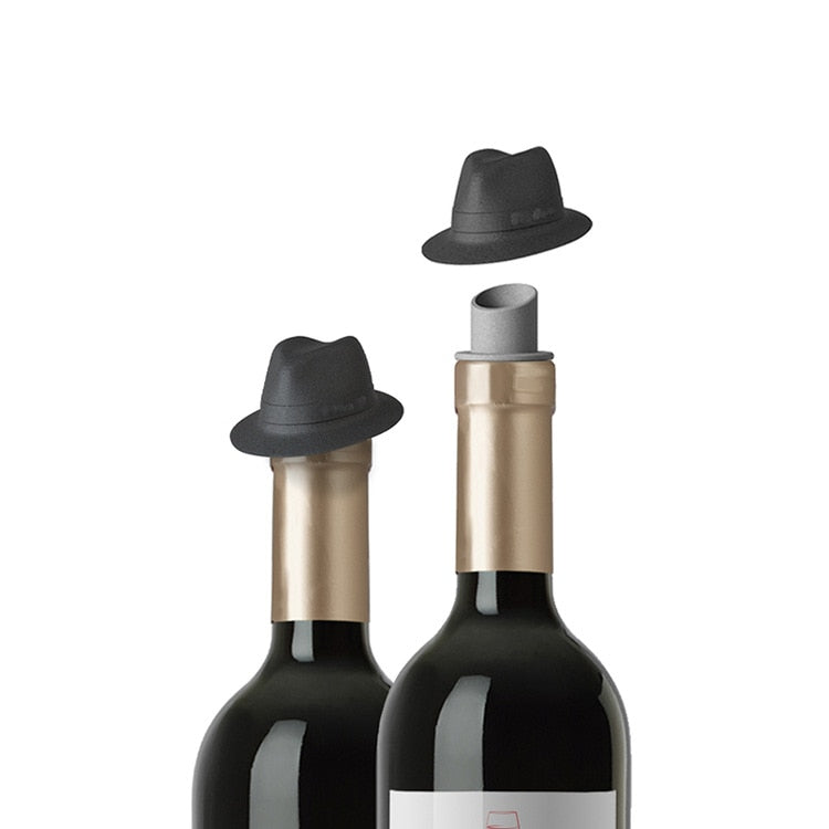 Fedora Wine Bottle Stopper