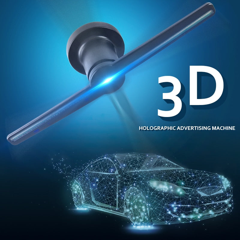 3D Holographic Advertising Machine