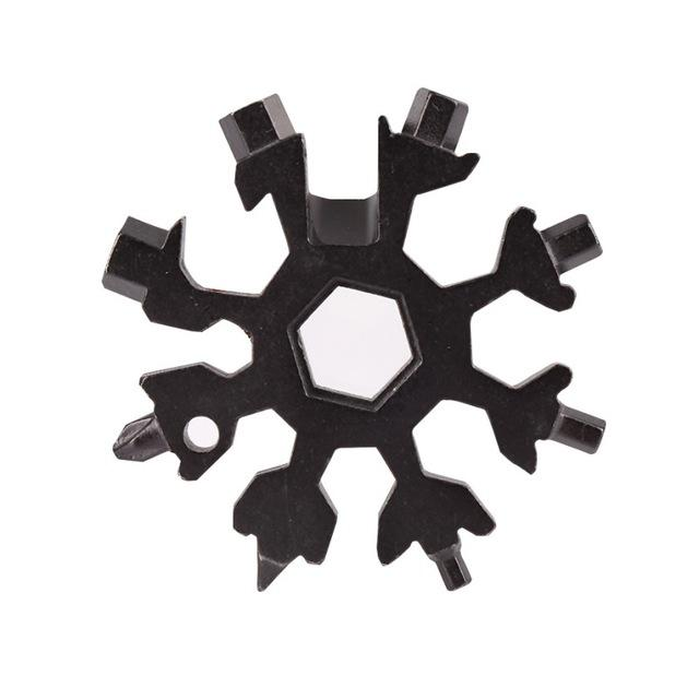 Ultra Compact 18-in-1 Pocket Snowflake Multi-Tool
