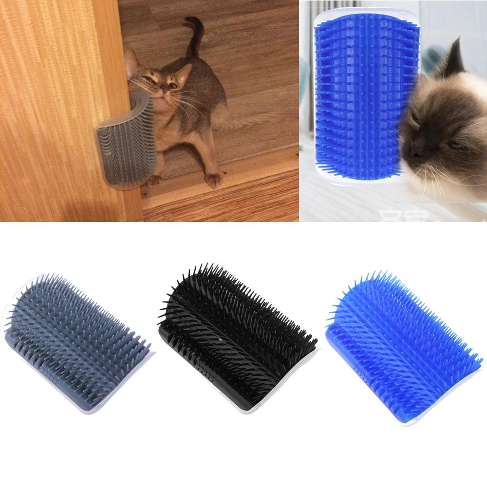Pet Comb Removable Cat Corner Scratching Rubbing Brush Pet Hair Removal Massage Comb Pet Grooming Cleaning Supplies