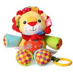 Jollybaby Children Plush Musical Stuffed Animal Comfort Baby Crib Hanging Toys Toddler Early Learning Educational For Children