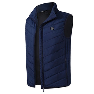 Unisex Electric Heated Vest with Stay-Warm Technology