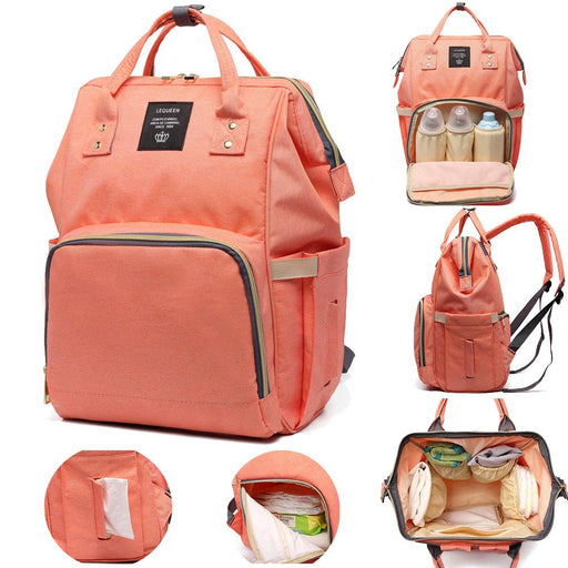 Large Capacity Traveling Mommy Backpack