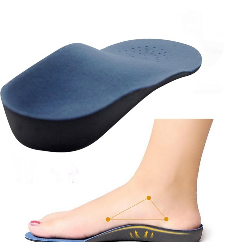 1Pair Unisex Orthotic insoles EVA Adult Flat Foot Arch Support Orthotic Orthopedic Insole for Men Women Feet Health Care Pad*829