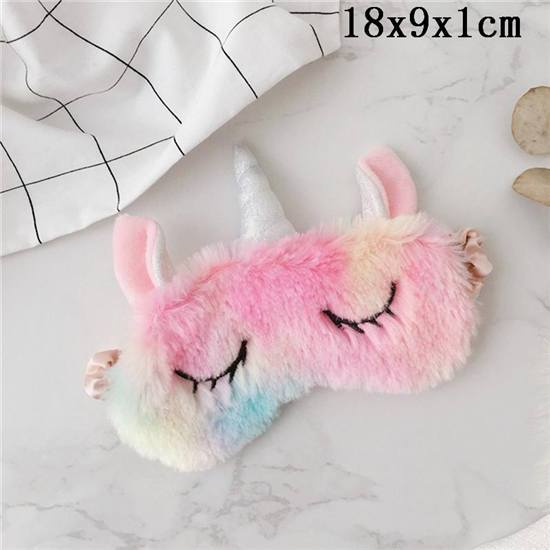 Cute Ice Cream Unicorn Soft Sleeping Eye Masks