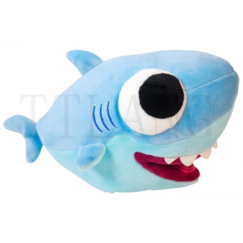 "10"" Cuddly Big Eyes Plush Baby Shark Toy"