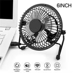 Portable Aluminum USB Fan