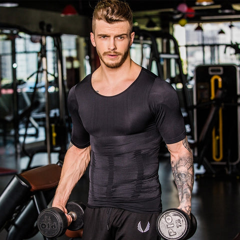 Men's Slimming Compression Shirt For Ideal Physique Abs