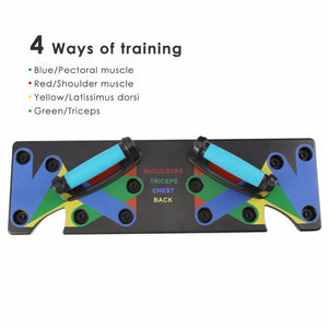 Push Up Board 9-in-1 Body Building
