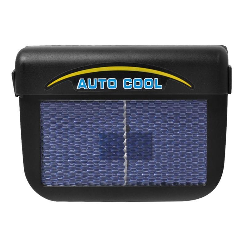 Solar Powered Cooling Fan For Car Window