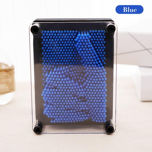 Pin Art 3D Sculpture Desk Toy