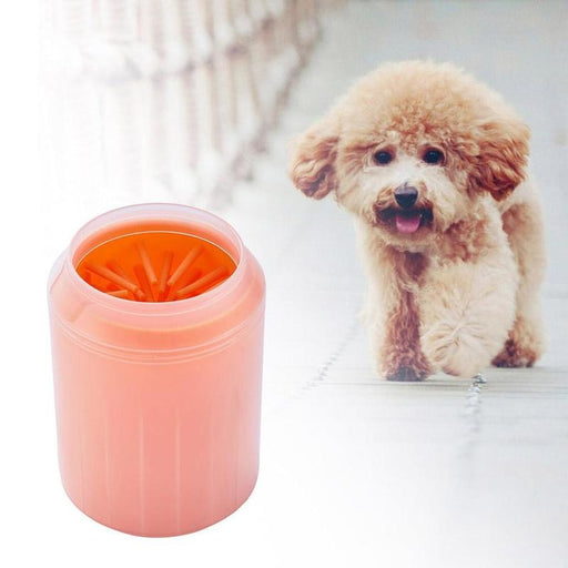 Gentle Silicone Bristle Dog Paw Cleaner