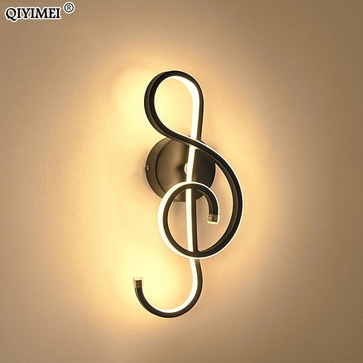 Music Note Wall Lamp