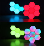 LED Geometry Table Lamp