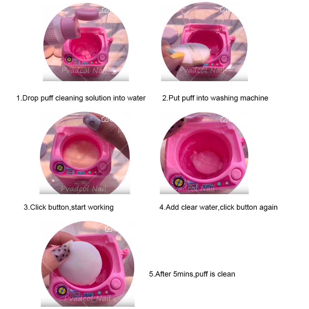 Makeup Blender Washing Machine