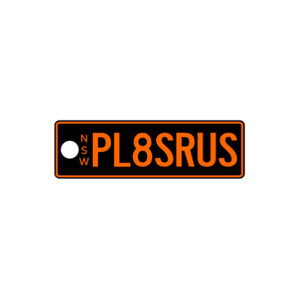 NSW Standard Issue Plate Keyring - PL8SRUS