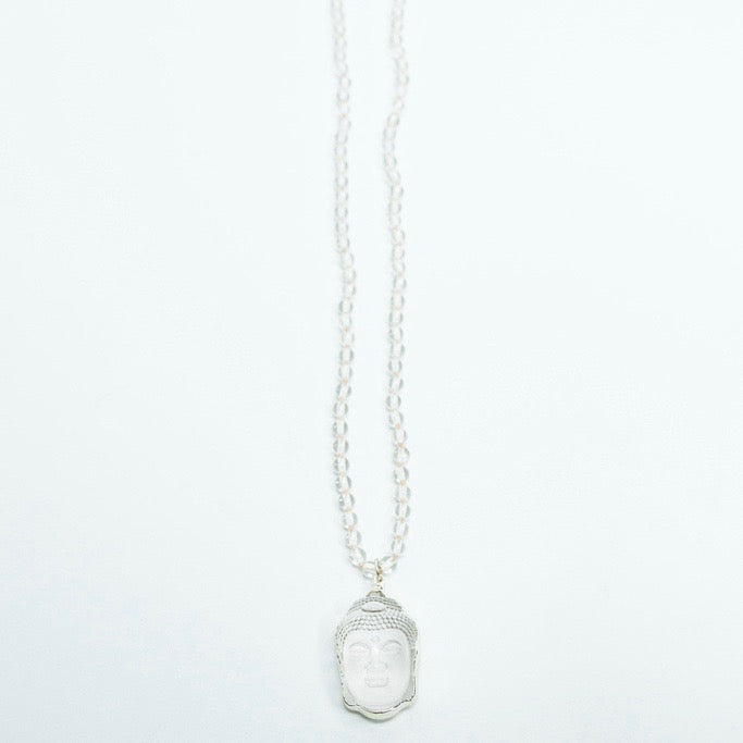 Crystal Buddha Necklace