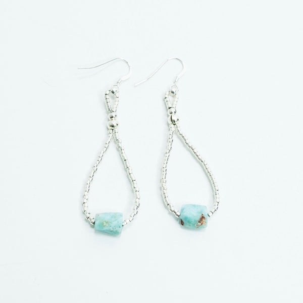 Larimar Cascade Earrings