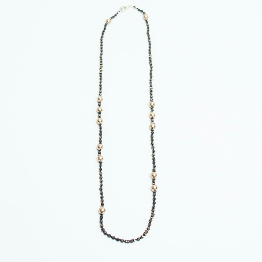 Sparkling Pearls Necklace
