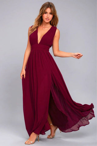 Loose Maxi Cocktail Dress