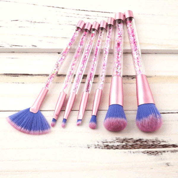 7 Piece Confetti Brush Set