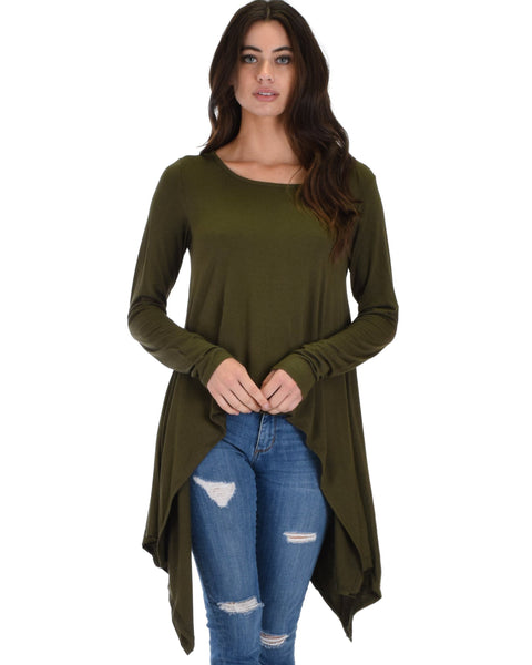 Long Sleeve Tunic Top