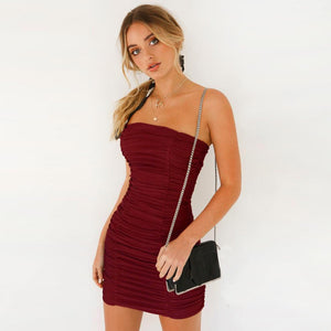 Sleeveless Party Bodycon Dress