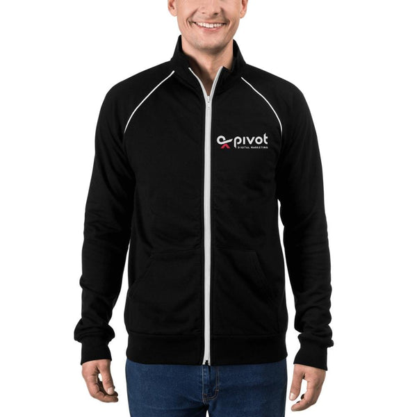 PIVOT Piped Fleece Jacket