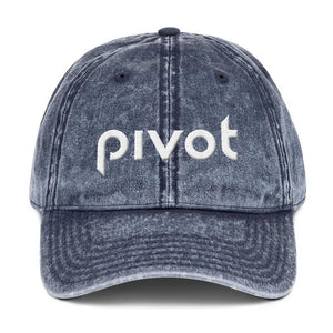 PIVOT Vintage Cotton Twill Cap