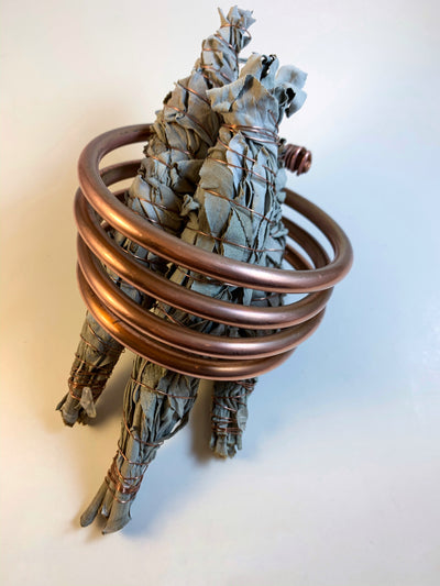 COPPER HAND- WRAPPED SACRED WHITE SAGE WANDS | SAGE RITUAL