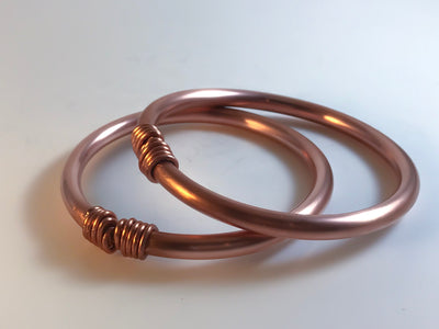 Copper All Up on Me Bangle