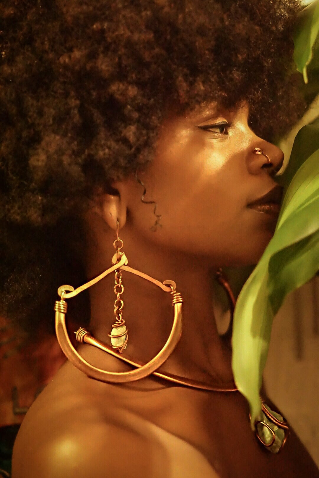 **Limited Edition** I HONOR MA'AT Earrings ONLY