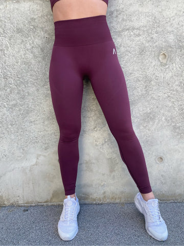 Deep Maroon - Leggings