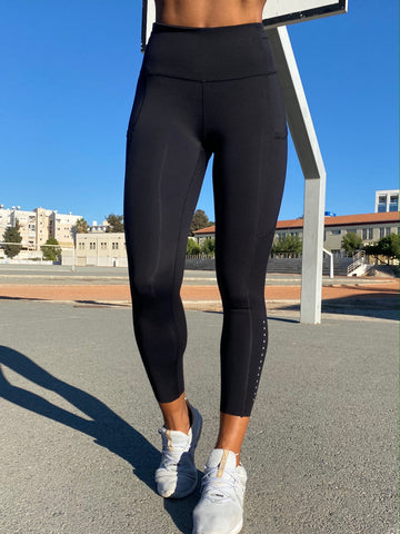 Athletico Leggings - Black