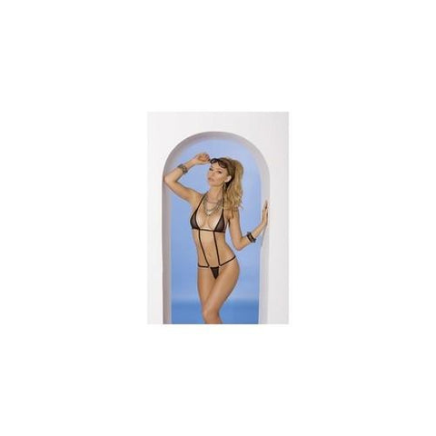 2-piece Swimwear Set - Black  - One Size