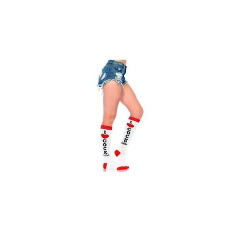 Cocktails Knee High Socks - One Size