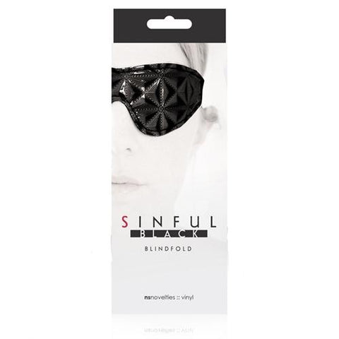 Sinful - Blindfold - Black