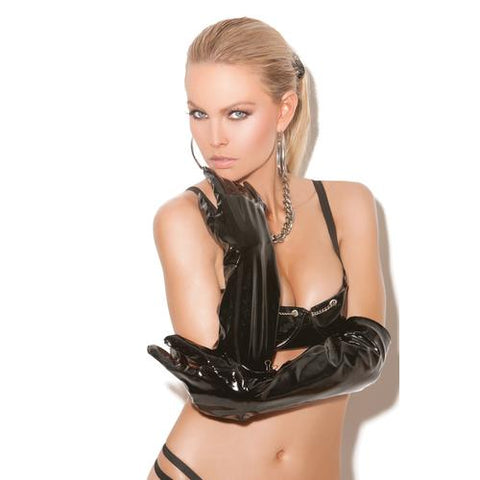 VINYL LONG GLOVES