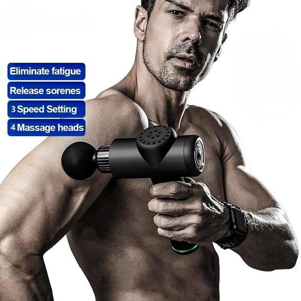 {45% OFF!} Multi-functional&Professional Muscle Massage Gun.