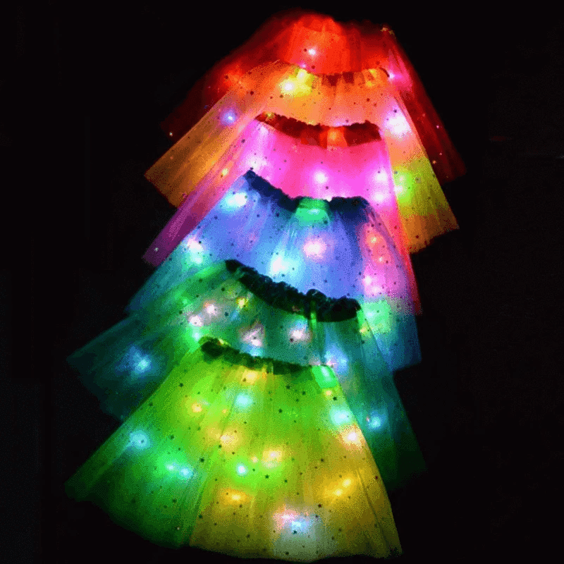 Ultimate Princess LED Light Up Costume Tutu Skirta
