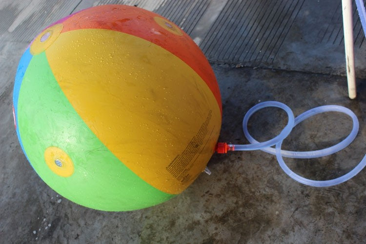 Multicolor Outdoor Children Water Toy Giant Inflatable Beach Ball
