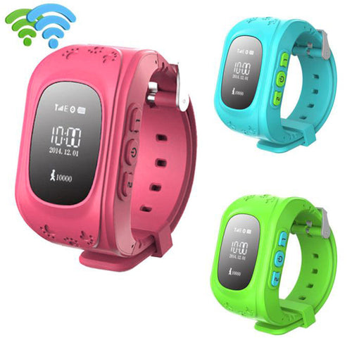 Kids GPS Tracker Smart Wristwatch Anti-lost Children For Android / IOS