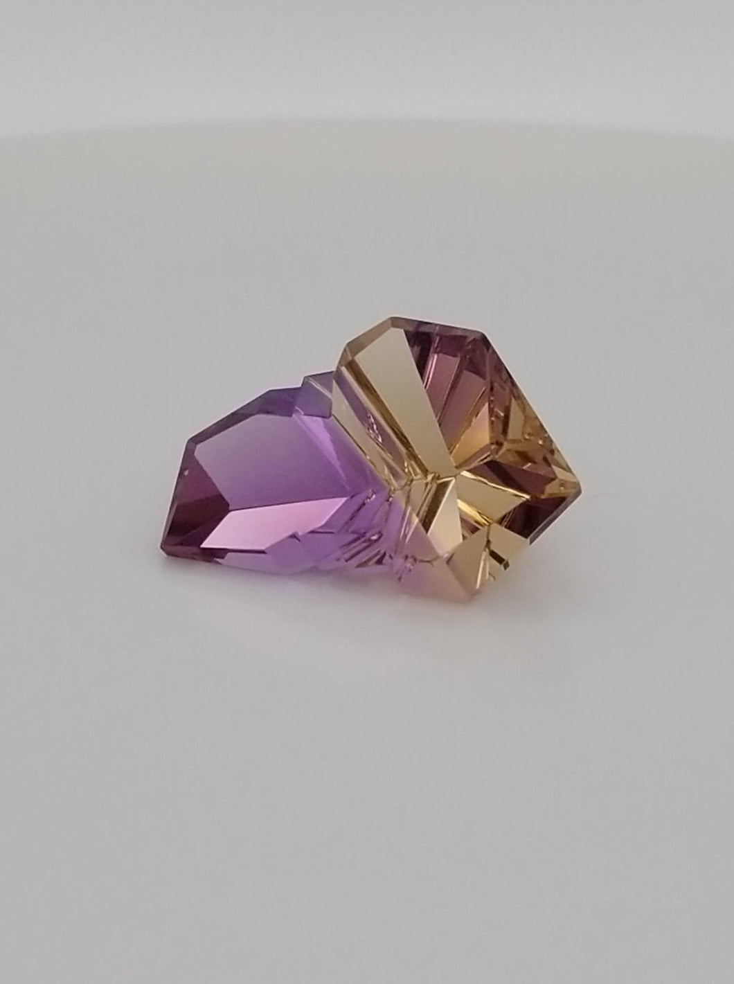 14ct Brazilian Fancy Cut Ametrine