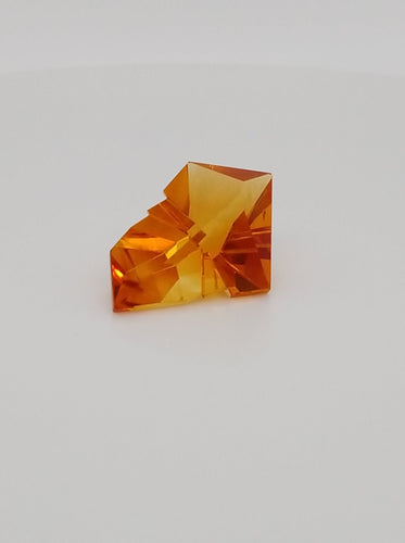 11.47ct Brazilian Madeira Citrine Fancy Cut