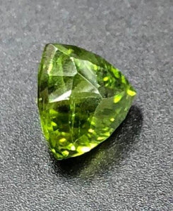 Peridot 8.59ct Fancy Cut by Mark Gronlund.