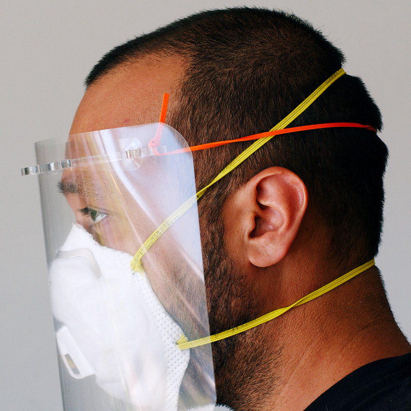 Face Shield Delivery to Hospitals