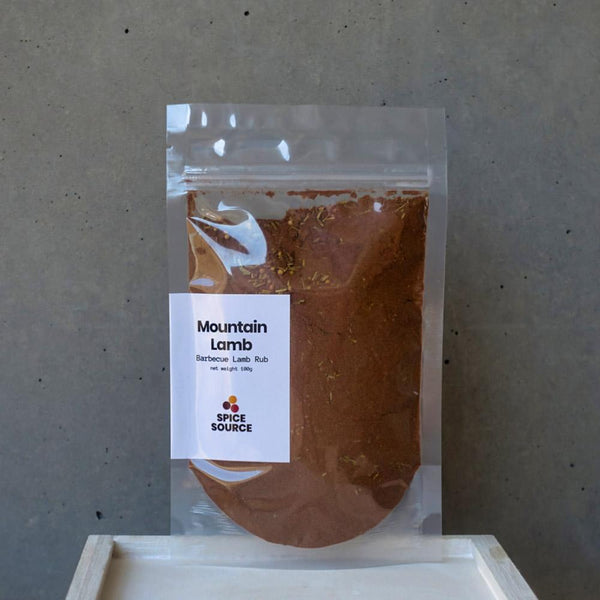 Mountain Lamb: Barbecue Lamb Rub - Spice Source
