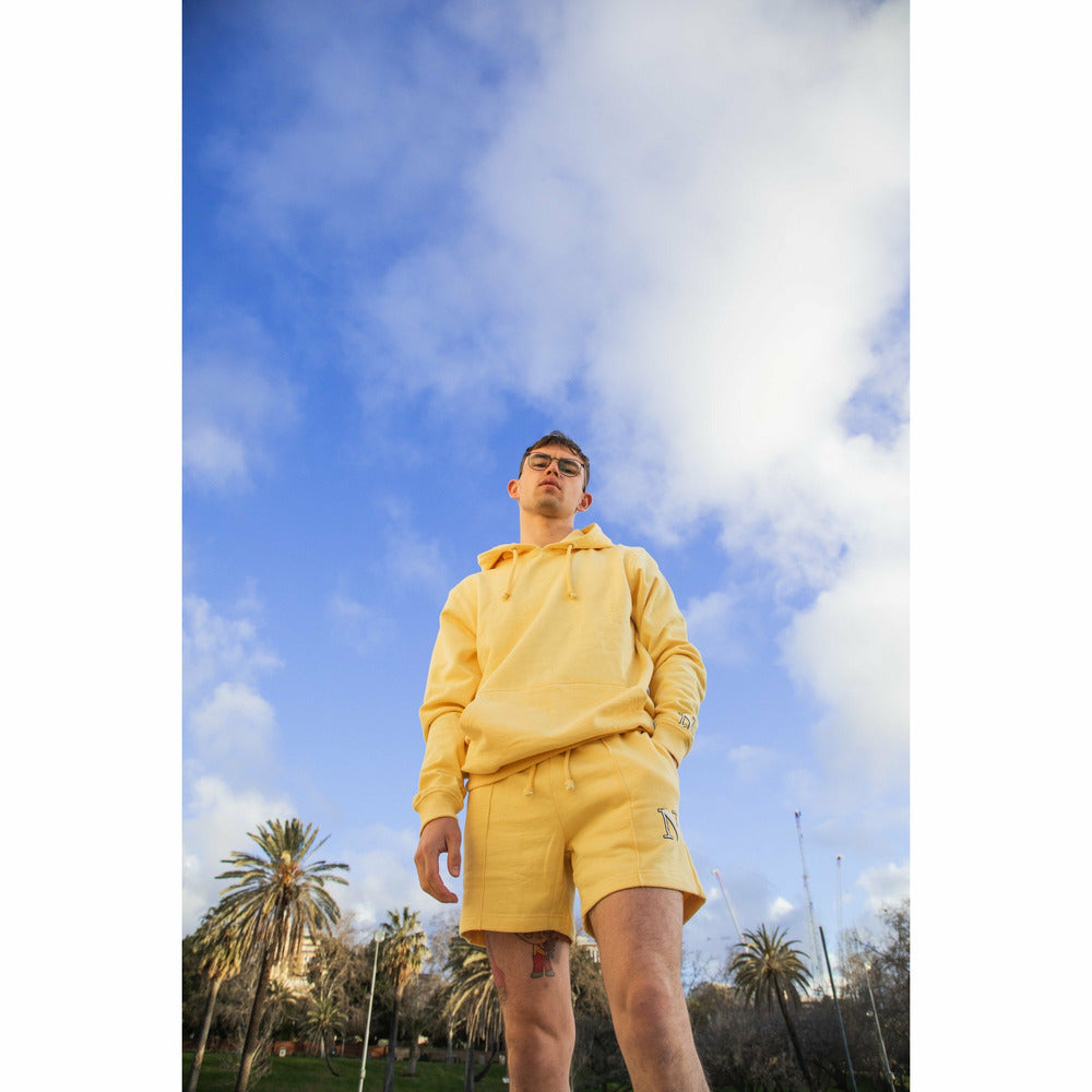 Capital Sweatshorts in Yellow - nowa the label