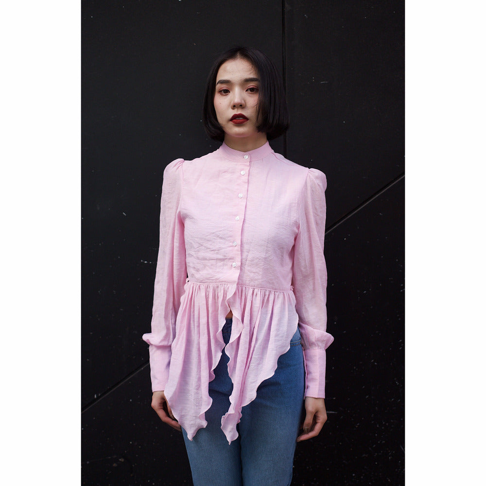 Button down blouse - Pink
